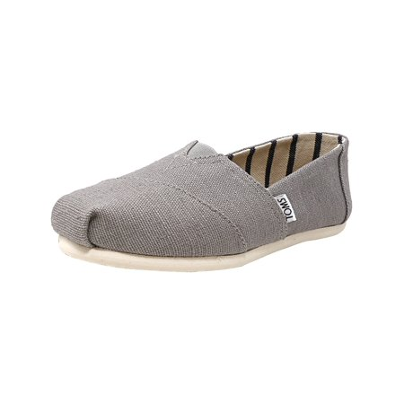 235861060b8 Toms Women s Classic Heritage Canvas Morning Dove Ankle-High Slip-On Shoes  - 7M