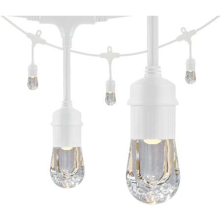 Enbrighten Classic Led Caf 233 String Lights 48ft 24