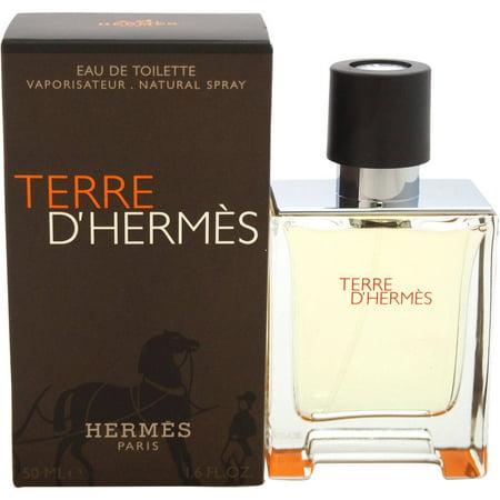 Hermes Terre D' Hermes Eau De Toilette Spray, 1.6 Oz Terre D' Hermes for Men 1.6 oz 50 ml EDT