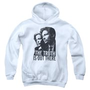 X Files Truth Big Boys Pullover Hoodie