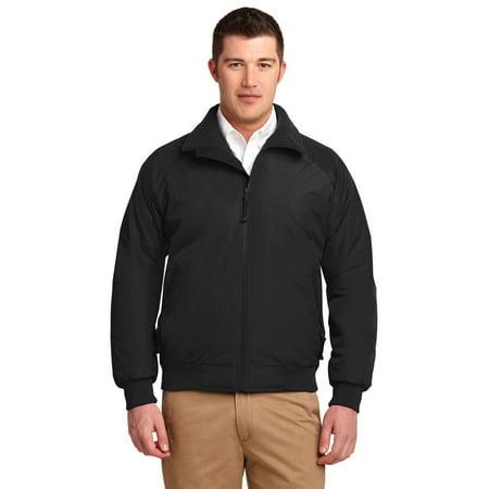 Port Authority Challenger Jacket - Port Authority TLJ754 Tall Men's Challenger Jacket - True Black/ True Black - Large Tall