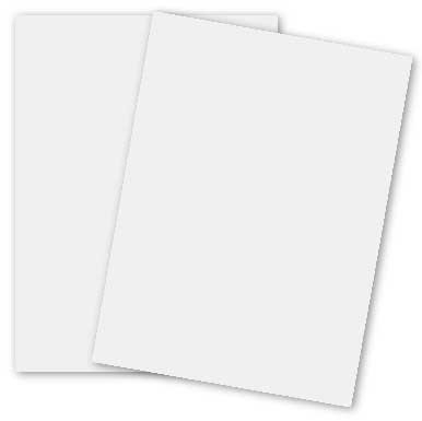 Basic White 11 x 17 (Lightweight) Card Stock Paper 65lb Cover (176gsm) 100 Pack by paper-papers