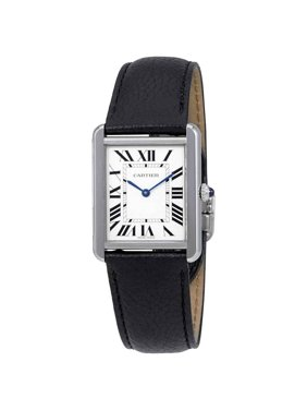 Cartier Tank Opaline Dial Ladies Watch WSTA0028