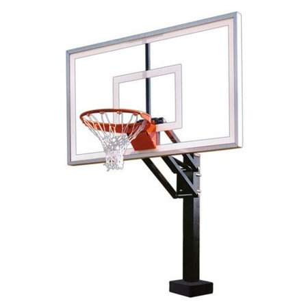 First Team Hydrochamp Select Swimming Pool Basketball Hoop With 60 Inch Acrylic Backboard