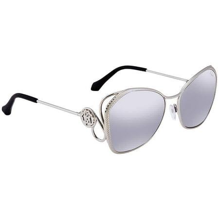 Roberto Cavalli GAVORRANO Smoke Mirror Butterfly Ladies Sunglasses (Cavalli Sunglasses 2016)