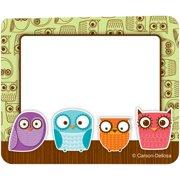 (6 Pk) Owls Name Tags - 40 Per Pk
