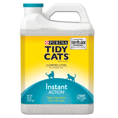Purina Tidy Cats Clumping Cat Litter; Instant Action Multi Cat Litter - 20 lb. Jug