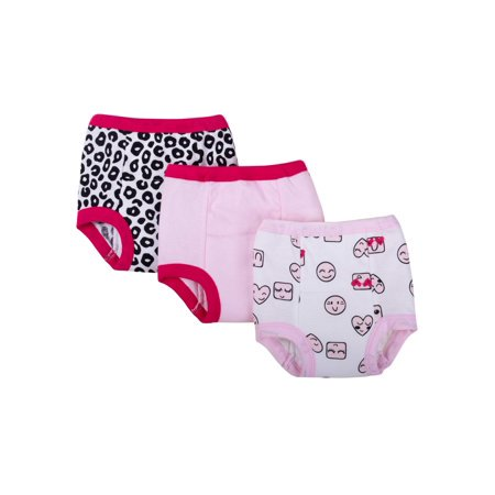 Girls Disco Pants (Assorted Training Pants, 3-pack (Toddler)