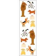 Mrs. Grossman's Stickers-Playful Dogs