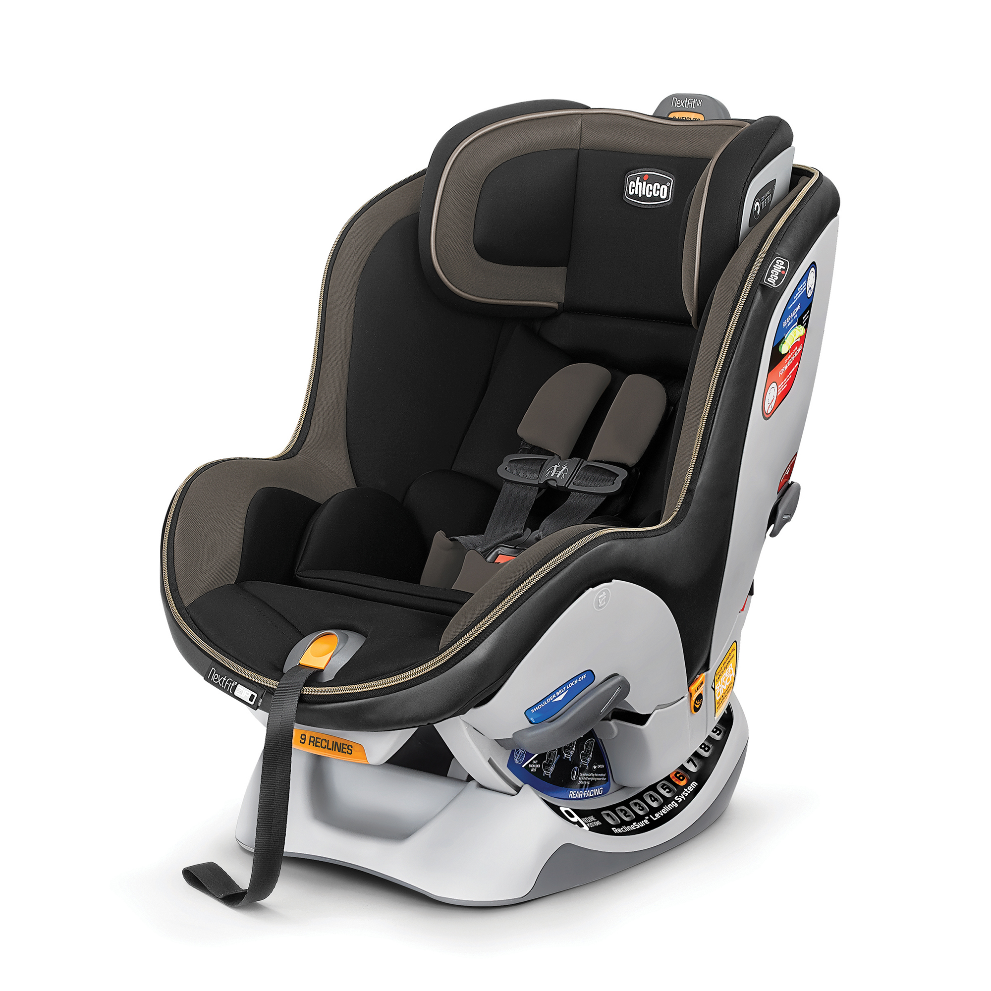 Chicco NextFit iX Zip Convertible Car Seat, Assorted Colors by Chicco