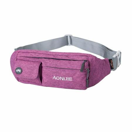 c2348e76ef8c AONIJIE Water Resistant Waist Bag Fanny Pack Hip Pack Bum Bag Running Belt  Exercise Bag for Sports Travel Running Hiking