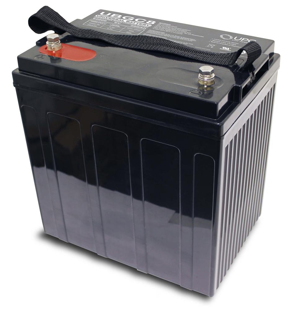 The Upgrade Group UBGC8 8 Volt 200 AH Golf Cart Deep Cycle AGM Sealed Battery