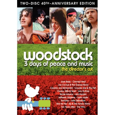 Woodstock: 3 Days of Peace & Music (DVD) (Capacity Koskin Cd Dvd)
