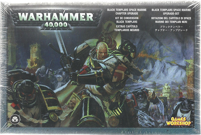 Black Templars Chapter Upgrade Warhammer 40K by Games Workshop by Games Workshop