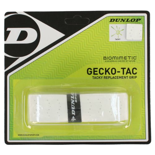 GeckoTac White Tacky Replacement Tennis Grip