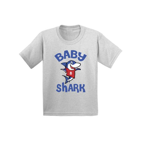 First Layer Top (Awkward Styles Baby Shark Infant Shirt Shark Baby Tshirt Shark Gifts for Baby Shark Themed Baby Shower Party First Birthday Gifts Matching Shark Shirts for Family Shark Family)