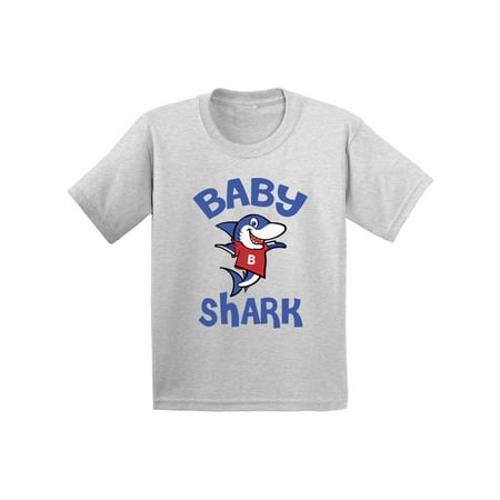Awkward Styles Baby Shark Infant Shirt Shark Baby Tshirt Shark Gifts for Baby Shark Themed Baby Shower Party First Birthday Gifts Matching Shark Shirts for Family Shark Family - Superhero Themed Outfits