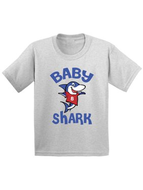 Awkward Styles Baby Shark Infant Shirt Shark Baby Tshirt Shark Gifts for Baby Shark Themed Baby Shower Party First Birthday Gifts Matching Shark Shirts for Family Shark Family Outfit