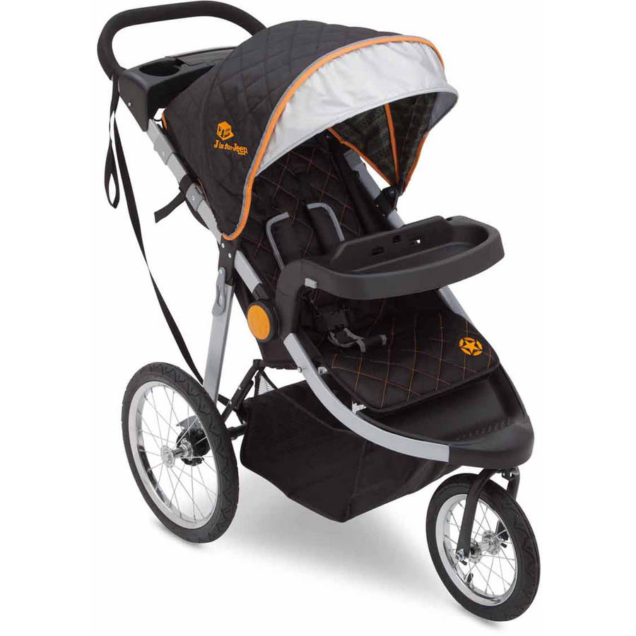 J is for Jeep Brand Cross-Country All-Terrain Jogging Stroller ...