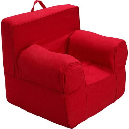 Medium Red Foam Chair Slip Cover Plus In