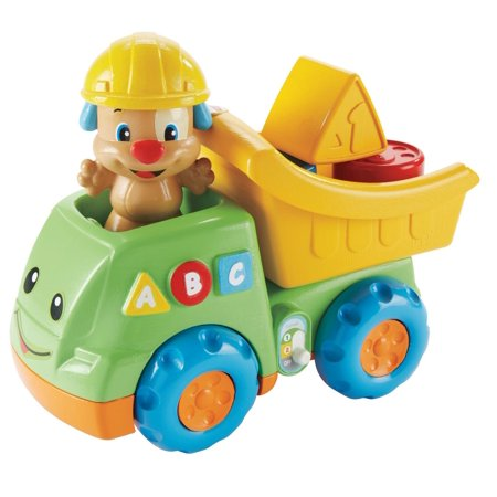 fisher price laugh learn puppy 39 s dump truck. Black Bedroom Furniture Sets. Home Design Ideas