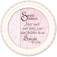 Sweet Sixteen Ivory Cottage Garden Tiny Round Treasure/Keepsake Box
