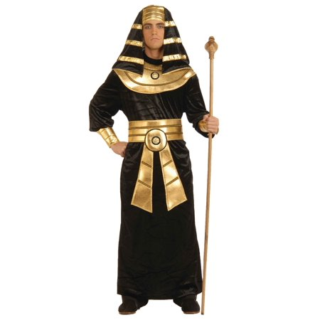 Adult Black Pharaoh Costume ()
