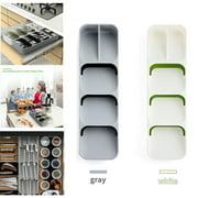 Drawer Organizer Insert Storage Cutlery Spoon Tray Utensil Store Box for Kitchen Home
