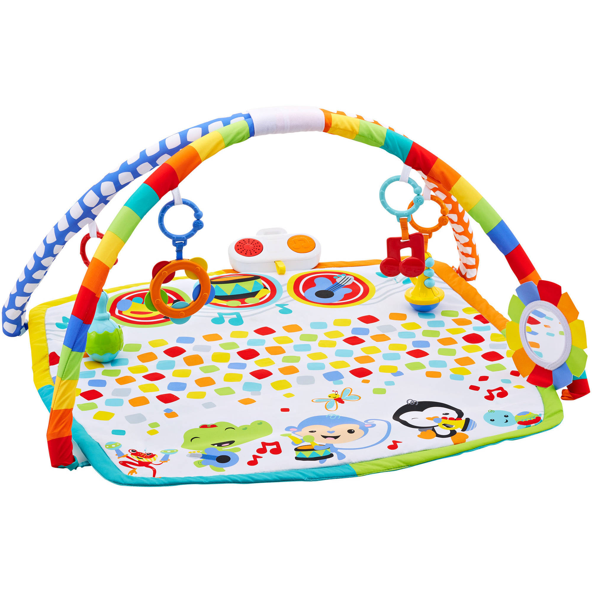 Fisher Price Baby s Bandstand Play Gym Walmart