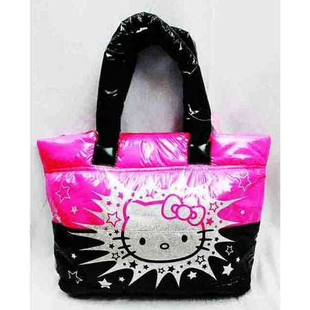 c557771140a5 Sanrio - Tote Bag - Hello Kitty - Sliver   Pink New Gifts Girls Hand Purse  3069554 - Walmart.com