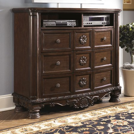 Wildon Home North Shore 6 Drawer Media Chest