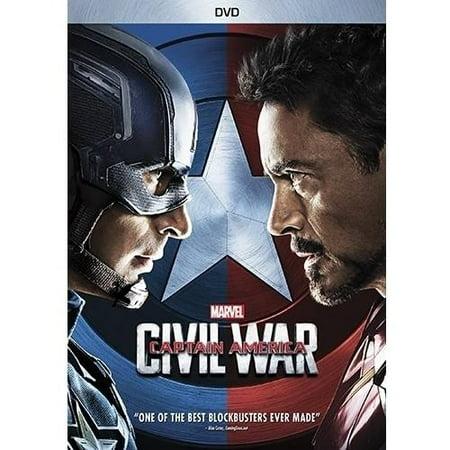 Captain america civil war for American cuisine dvd