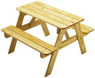 Little Colorado Child's Sunroom Picnic Table by Little Colorado Inc