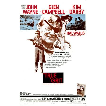 Kim Darby Halloween (True Grit Kim Darby John Wayne Glen Campbell 1969 Movie Poster)