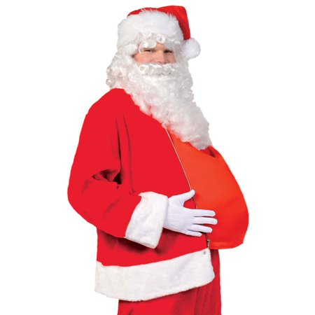 Santa Claus Belly Mens Adult Christmas Saint Nick Costume Accessory - Saint Costume Ideas