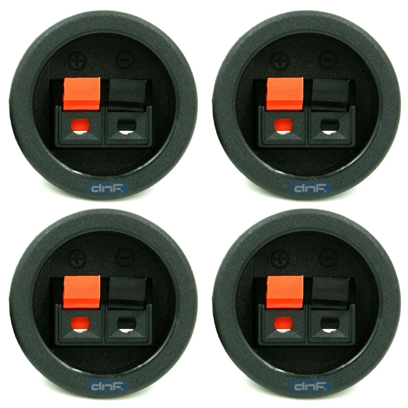 2 Pack Subwoofer Speaker Terminal Cup
