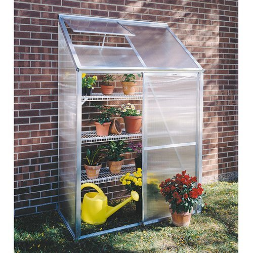 Juliana Lean-To 4.25 x 6.4-Foot Mini Greenhouse