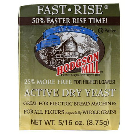Hodgson Mill Active Dry Yeast Fast Rise 8.75 (Best Hodgson Mill Yeasts)