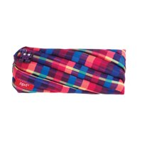 ZIPIT Pixel Pencil Case / Cosmetic, Makeup Bag, Purple