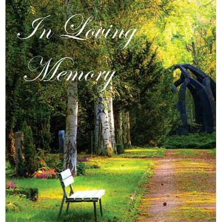 in loving memory funeral guest book celebration of life wake loss memorial - Garden Of Memories Funeral Home
