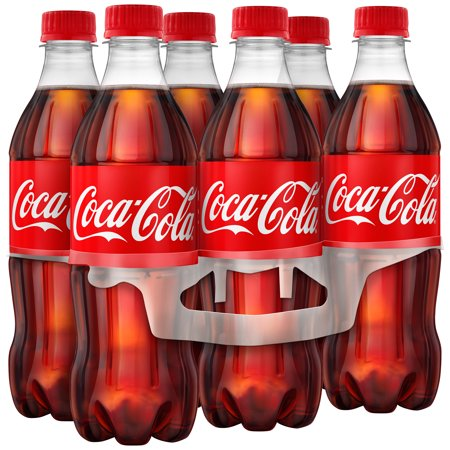Ice Cold Coca Cola Tin ((4 Pack) Coca-Cola Soda, 16.9 Fl Oz, 6)