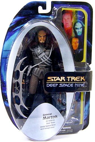 Star Trek Ds9 Figure Klingon General Martok by Diamond Select