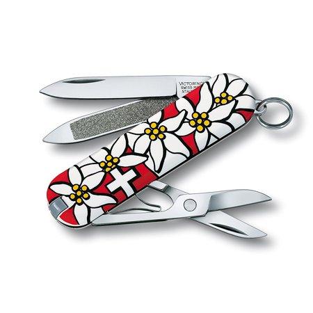 Swiss Army Classic Sd Pocket Knife Stayglow Shamrock Tube