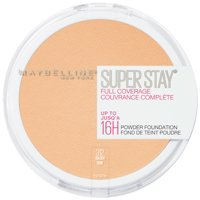Maybelline Super Stay Full Coverage Powder Foundation Makeup, Matte Finish, 0.21 fl. oz.