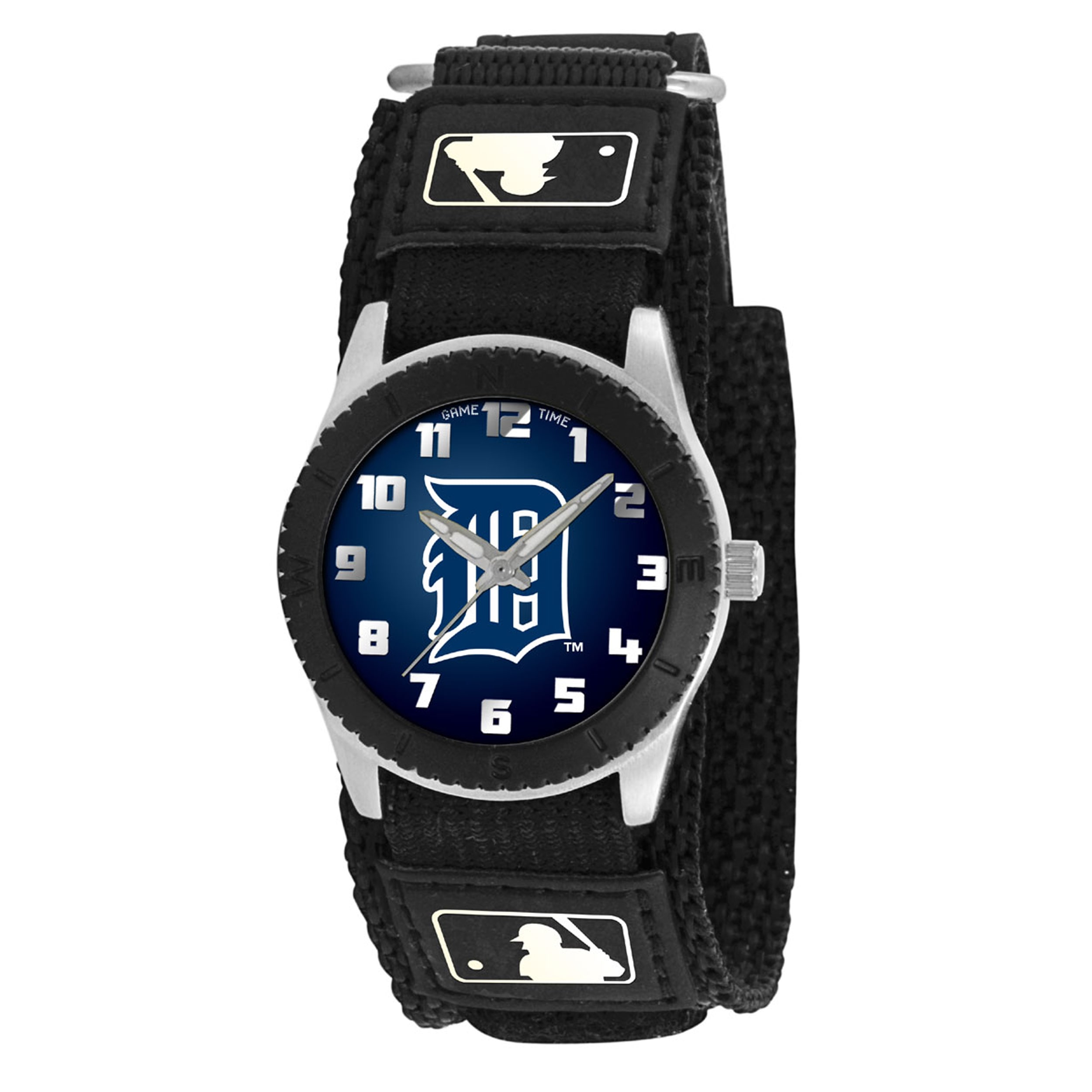 Game Time MLB Kids' Detroit Tigers Rookie Black Watch by Game Time Watch Group