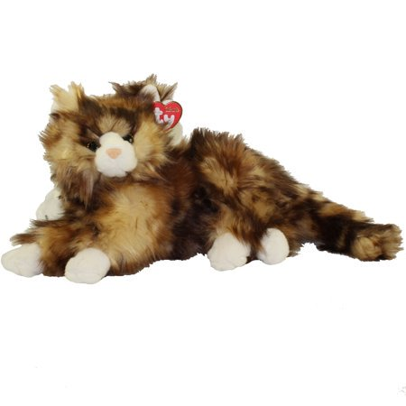 Ty Classic Jumbles the Cat Plush Stuffed Animal Toy - 10