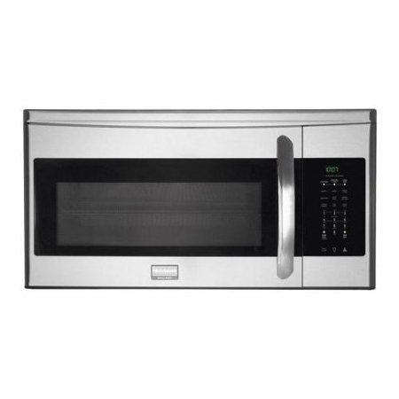 Frigidaire fgmv154clf 1 5 cu ft over the range microwave - Stainless steel microwave interior ...