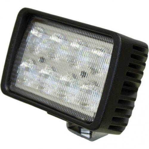 LED Work Light – 40W, Rectangular, Flood Beam, Case IH, R54411, John Deere, AT208435