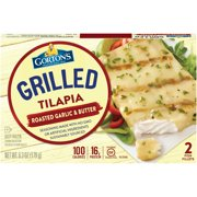 Gorton's Garlic & Butter Grilled Tilapia Fillets, 2 count
