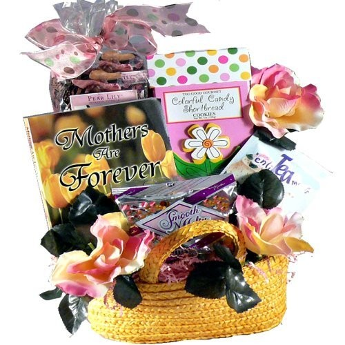 Sweetest Mom Tea and Snacks Gift Tote